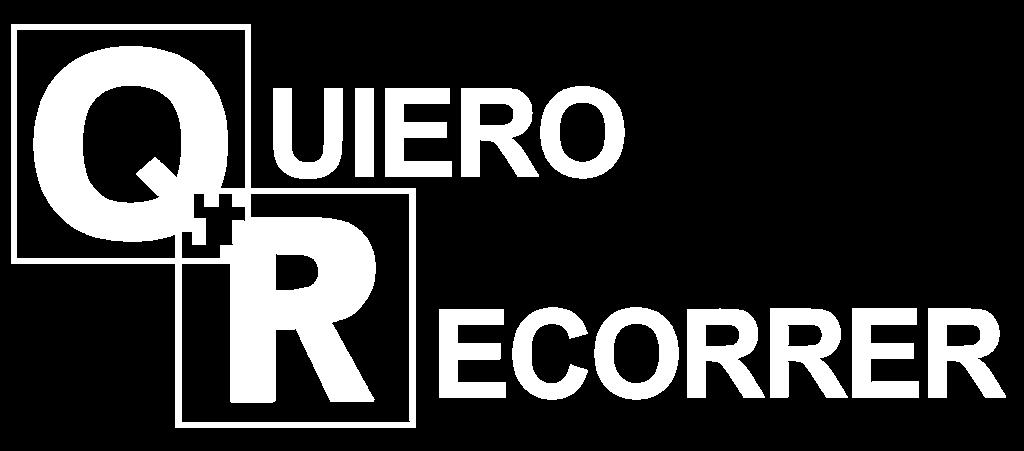 Logotipo de la marca QR: Quiero Recorrer